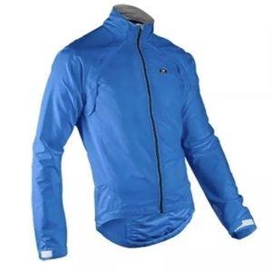 Sugoi Men's Versa Bike Jacket Size S True Blue